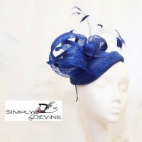 Parisienne-inspired royal blue hatinator 14753/SD63